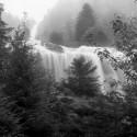 Cascade d'Ars, cabanne de Guzettou, étang de Guzet