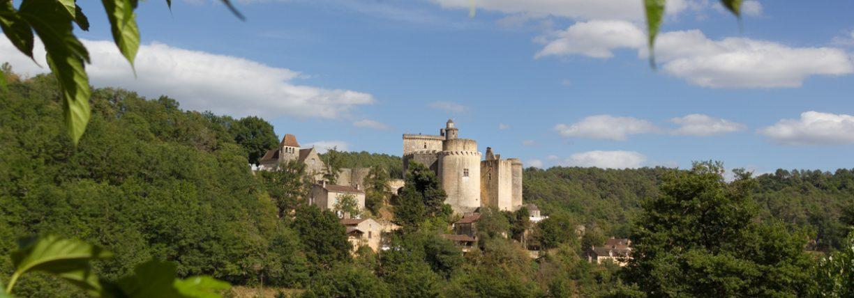 Bonaguil le château