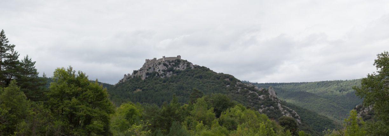 Puilaurens, le château