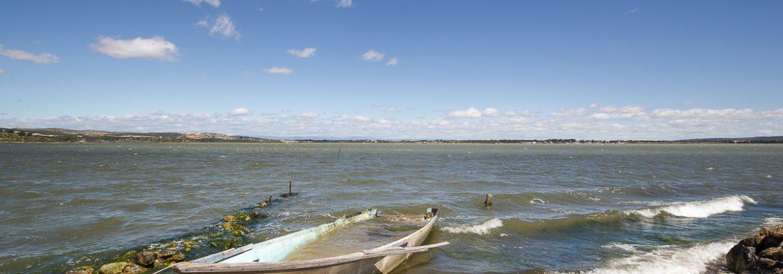Rando sur les hauteurs de l'étang de Bages et du village du même nom.
